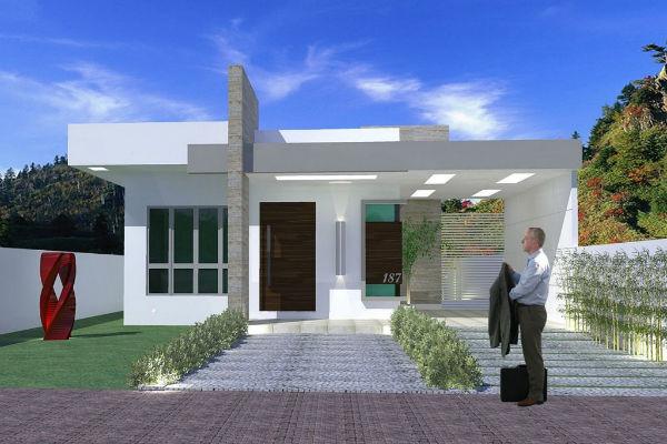 Arquitectura moderna casas peque as images for Arquitectura casas pequenas