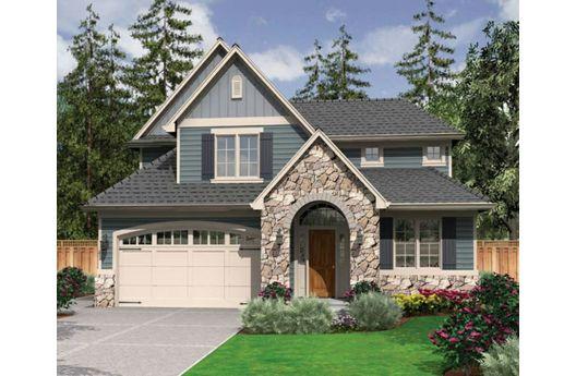 Lujosa casa de piedra de dos pisos, tres dormitorios y 185 metros cuadrados
