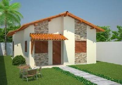 Casa económica para familias numerosas, cuatro dormitorios en solo 61 metros cuadrados