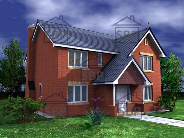 Casa formal de dos pisos, cuatro dormitorios y 154 metros cuadrados