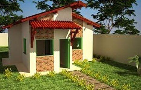 Casa popular de tres dormitorios en solo 51 metros cuadrados