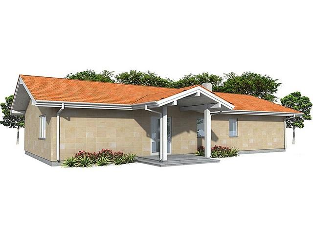 Planos de casas de una planta y tres dormitorios gratis for Casas modernas de una planta y tres dormitorios
