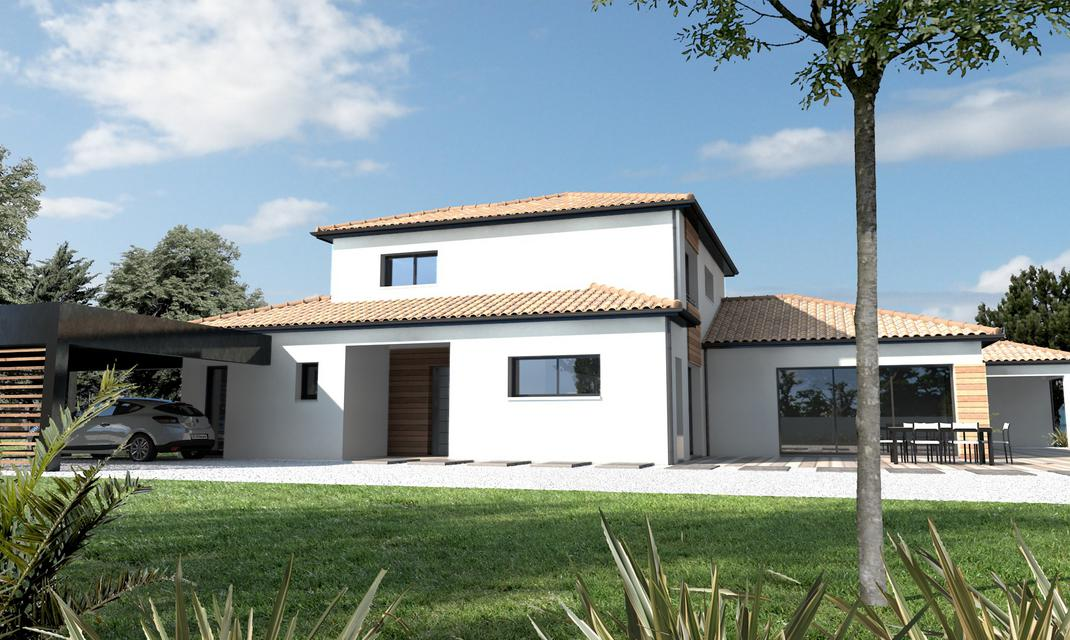Amenagement Exterieur Loire Atlantique Maison Traditionnelle Grande Suite Parentale Olonne-sur