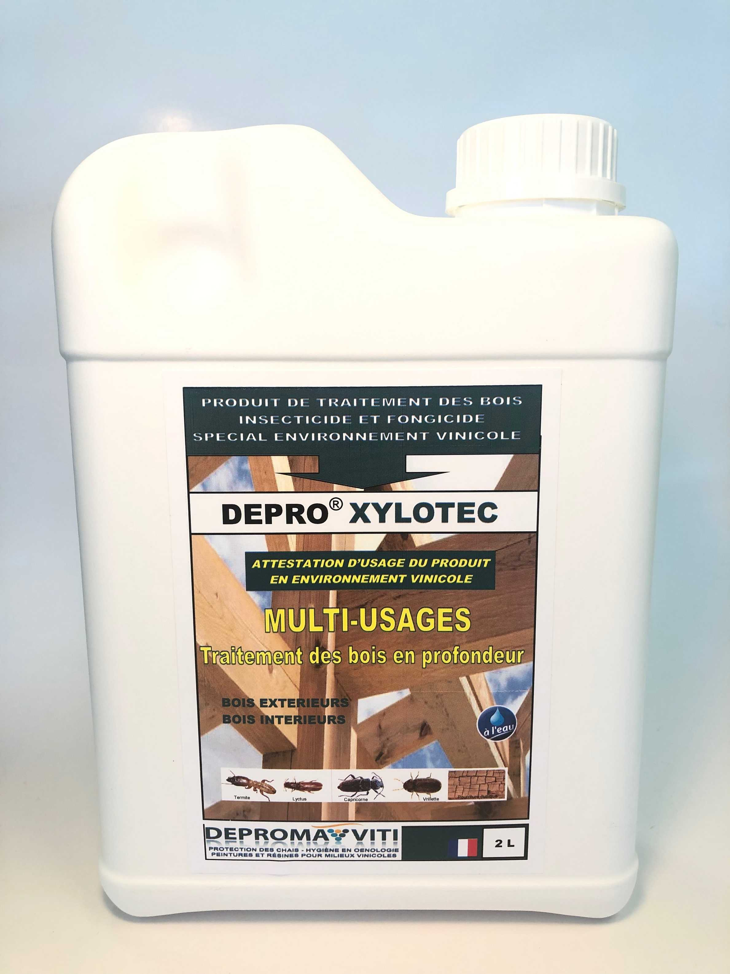 Resine Protection Bois Insecticide And Fungicide Treatment Deproma Viti