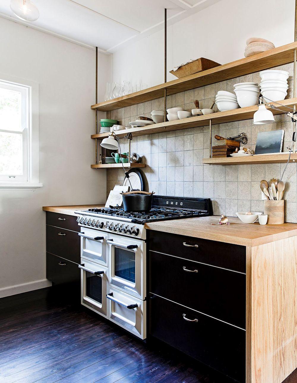 Muebles De Madera Para Cocina Pequeña   Muebles Para Cocina Pequeña ...