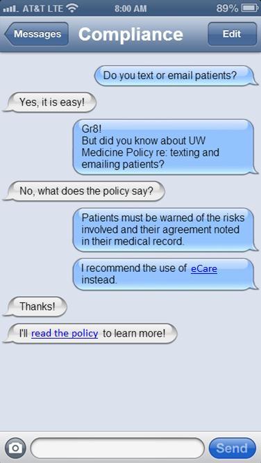 HIPAA - Emailing Patient Information - UW Medicine ComplianceUW