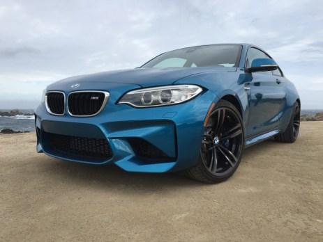 Typische BMW Niere und Coupelinie des M2 Coupe