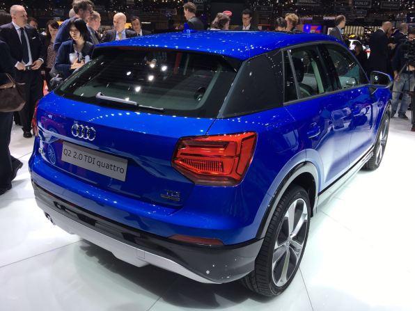 Audi Q2 Heck