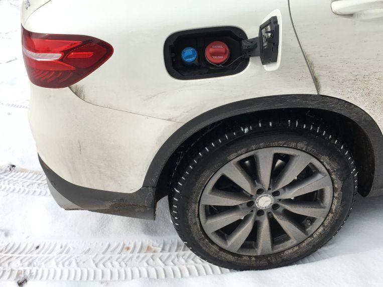 Mercedes GLC Tank für Harnstoff und Diesel