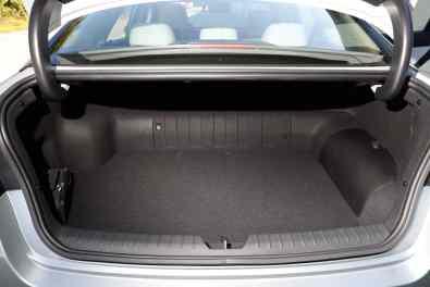 Kofferraum Kia Optima Hybrid