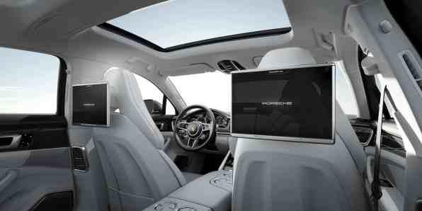 Interieur Panamera Turbo Executive
