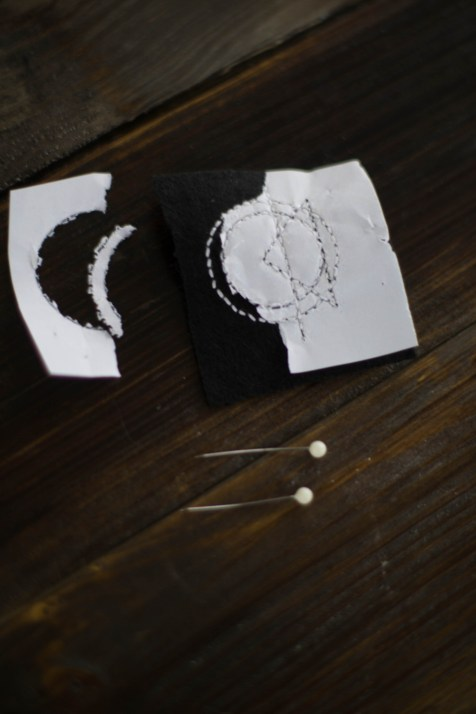 Kette Sticken DIY Schmuck geometrisch_-7