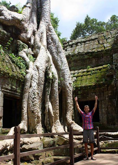 Derek Loudermilk Angkor Wat