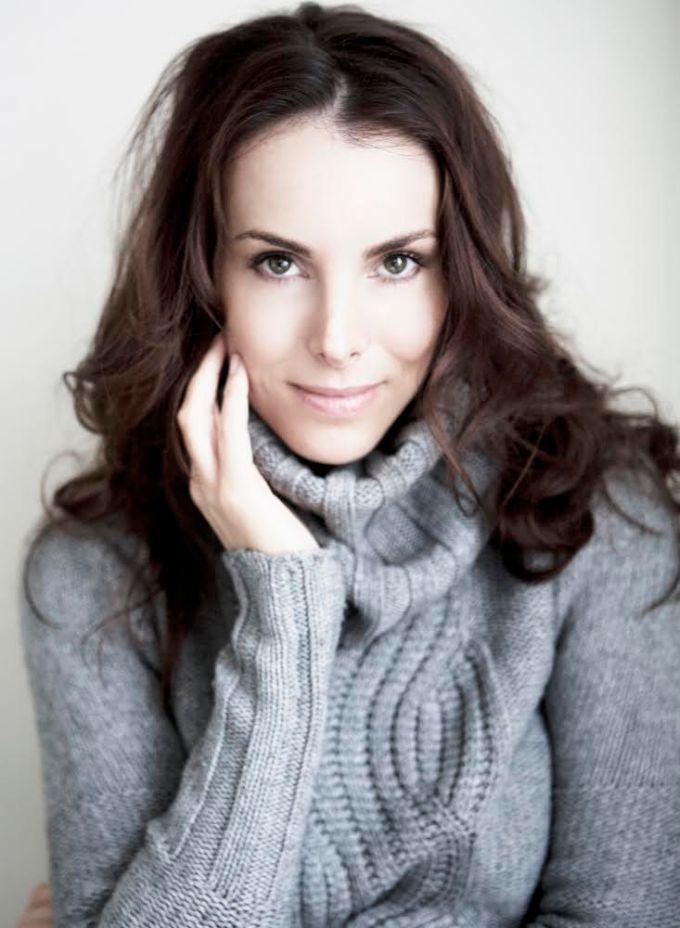 Janine Newberry Sweater Derek Loudermilk