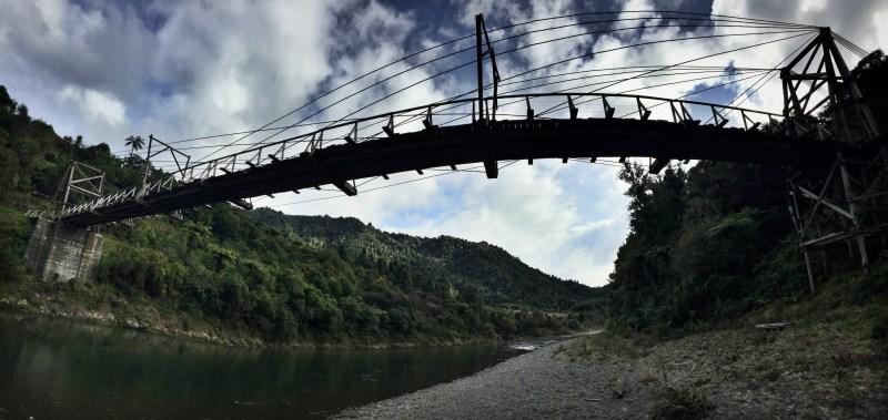 Derek Loudermilk New Zealand Art of Adventure Gorge Bridge