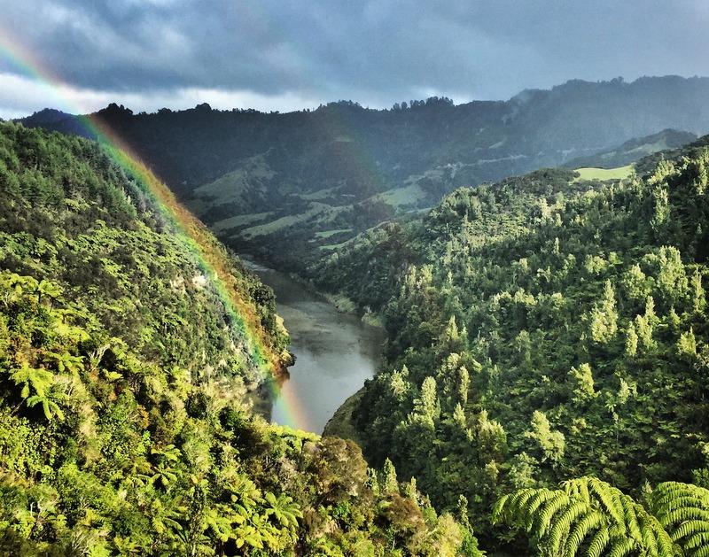 Art of Adventure Derek Loudermilk New Zealand North Island Whanganui River Rainbow