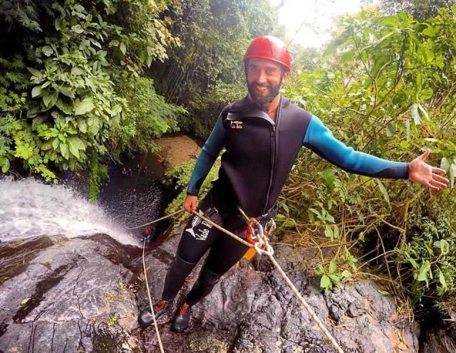 Canyoning Ninja Camp Bali