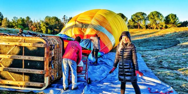 Hot Air Ballooning with California Dreamin'