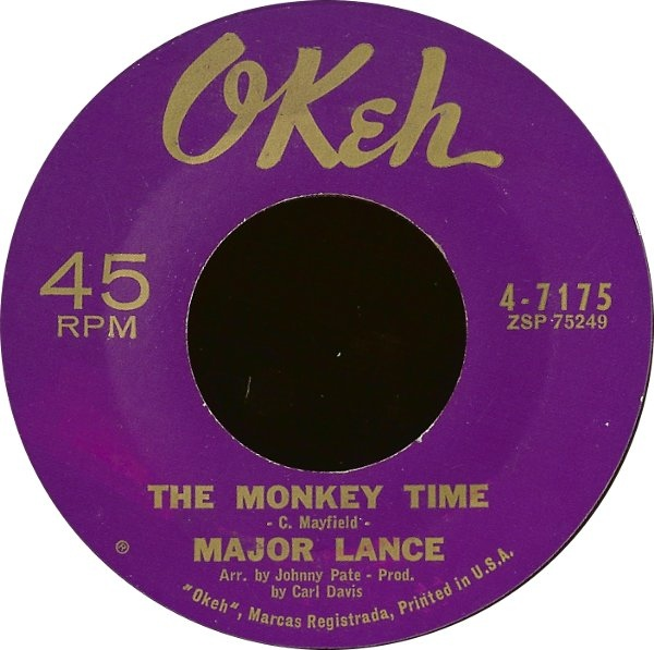 Major Lance Monkey Time Major Lance Pinterest Lancing FC - cd label
