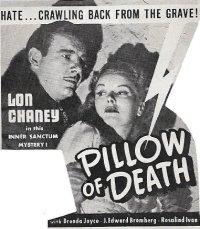 Pillow of Death ** (1945, Lon Chaney Jr, Brenda Joyce, J ...