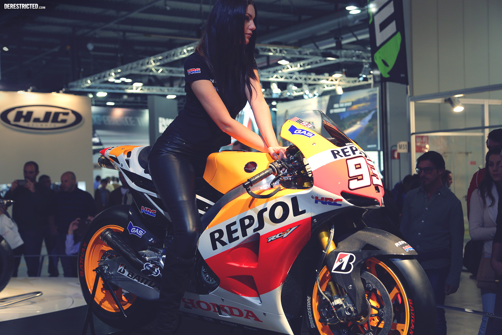 Motocross Girl Wallpaper Bikes And Girls At Eicma Derestricted