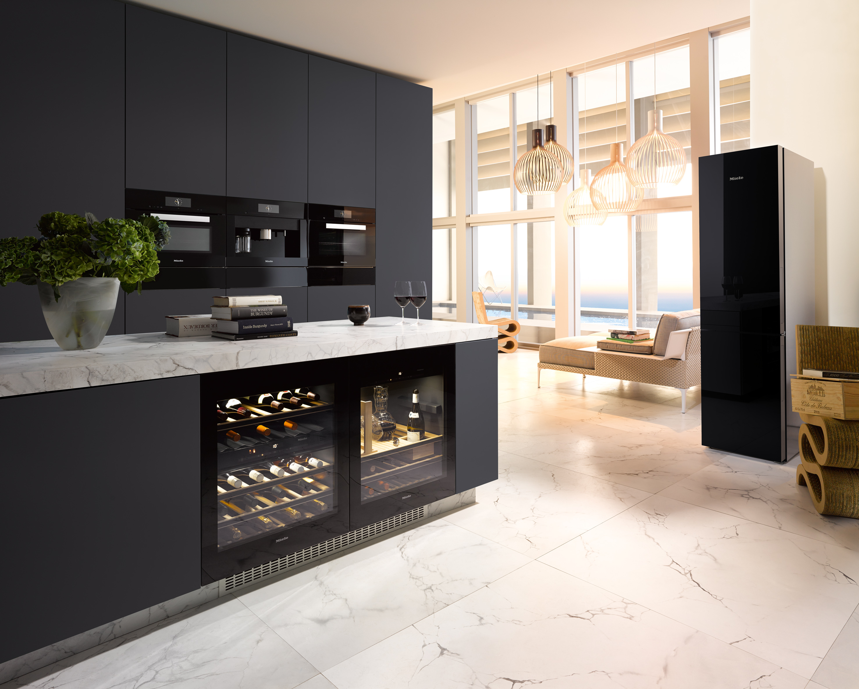 Miele Kitchen Design Creating A Kitchen Island Der Kern By Miele