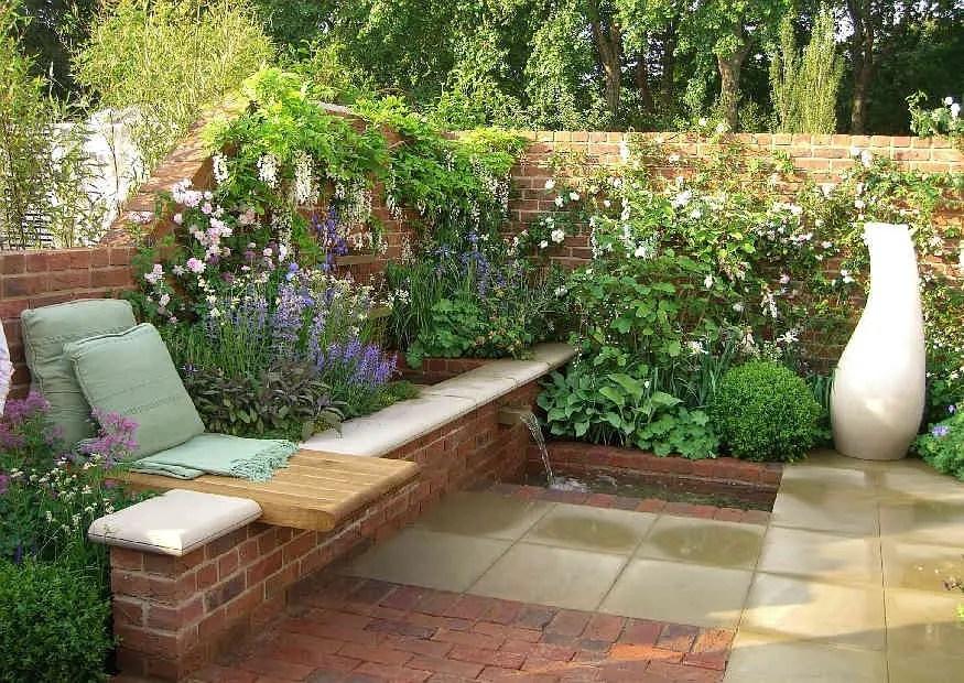 Gartengestaltung Kleine Garten So Kommt Ihr Kleiner Garten Am Hang Gross Raus Galanet