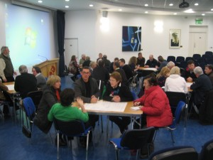 Groups at LiT Co-ops event