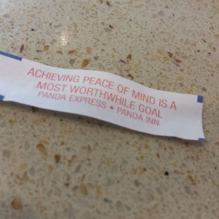 At least I got a fortune