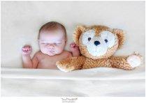Sleeping with Mickey's bear, Duffy