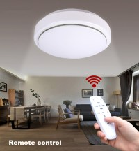 JIAWEN LED Ceiling Light with 2.4G RF Remote Controller ...