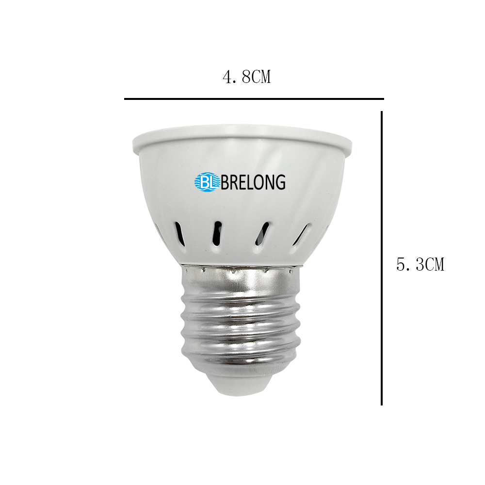 Brelong E27 E14 Gu10 Mr16 36led 2835 Plant Cup Light Ac 220 240v 1pc Brelong E27 E14 Gu10 Mr16 36led 2835 Plant Cup Light Ac 220 240v 1pc