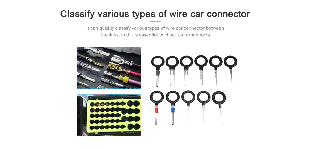 Car Plug Remove Tool Terminal Extraction Pick Set Gearbest