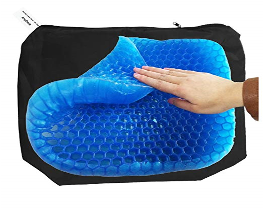 Bed Sore Cushions Gel Seat Cushion Non Slip Egg Sitter Pad Breathable Pressure Sore Relief