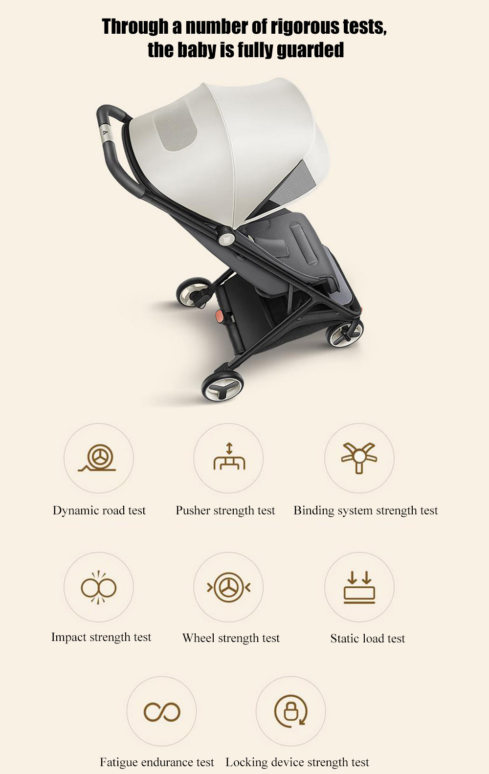 Baby Travel Systems Northern Ireland Xiaomi Mitu Folding Stroller Multifunctional Trolley Case For Babies