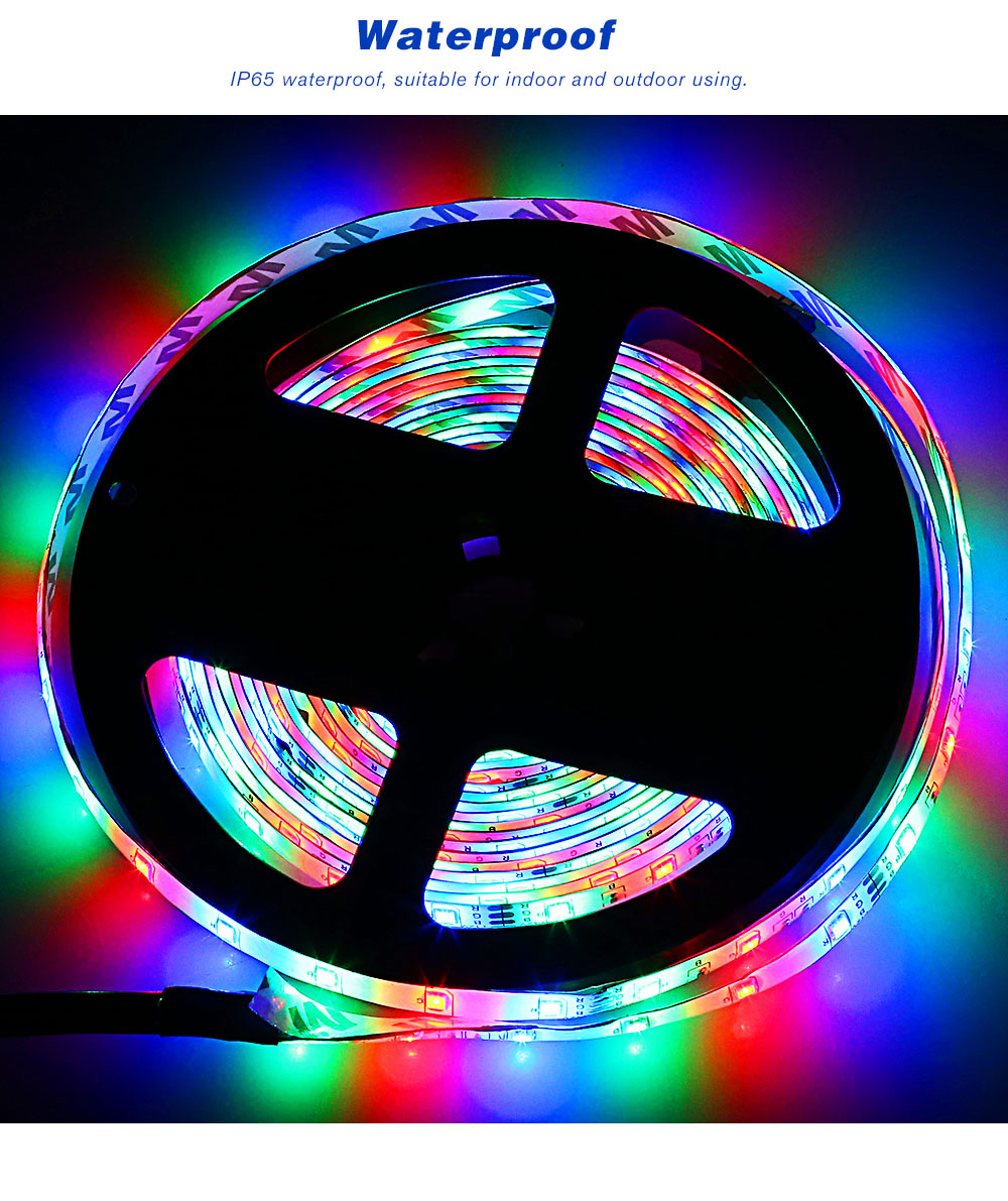 Led Light Strips Rgb Zdm 5m Led Strip Light With Remote Control