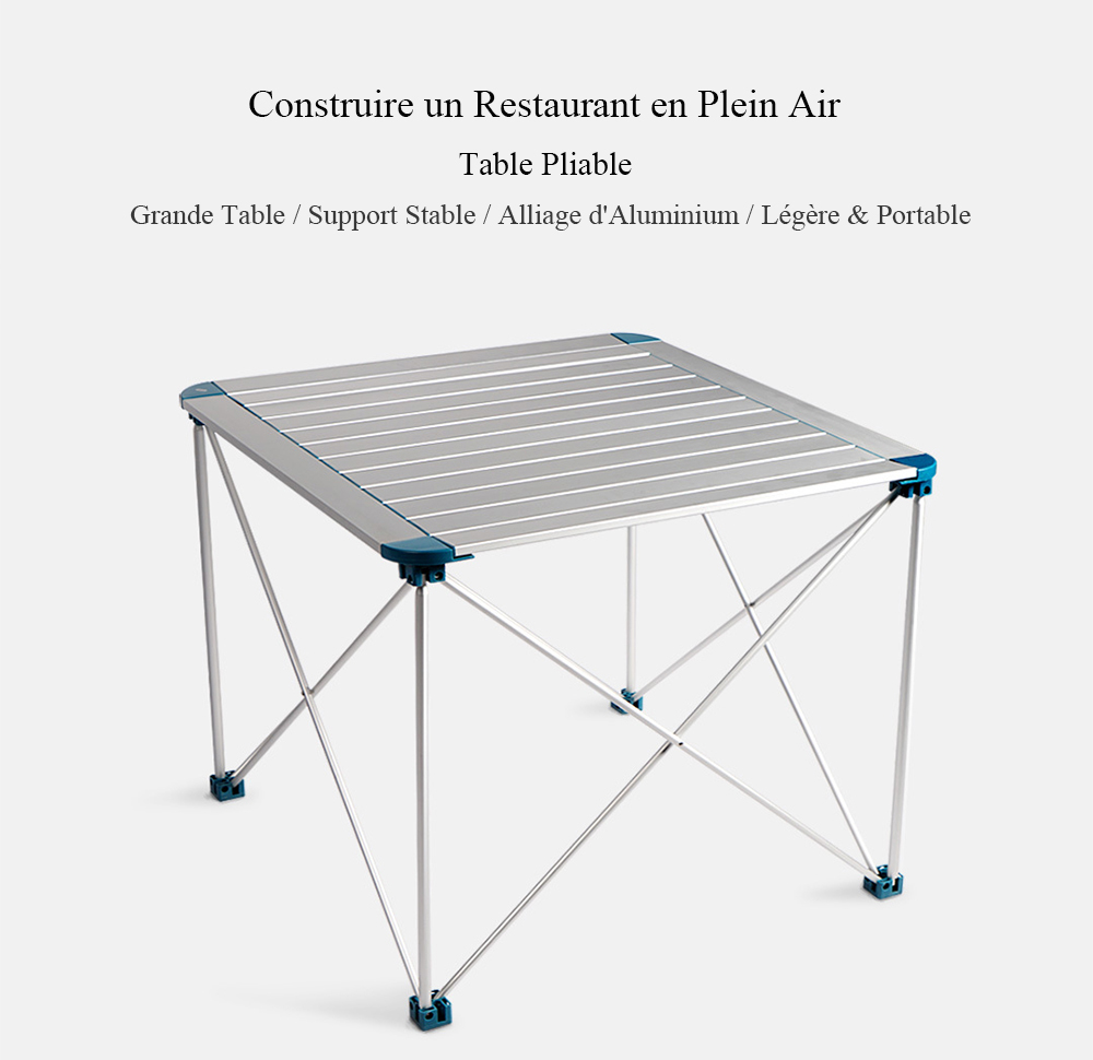 Table Pliante Légère Table Pliante D Extérieur En Alliage D Aluminium Avec Sac En Oxford De Xiaomi You Pin