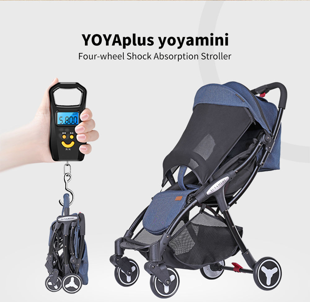 Sims 4 Toddler Stroller Mod Yoyaplus Yoyamini Four Wheel Shock Absorption Baby Stroller