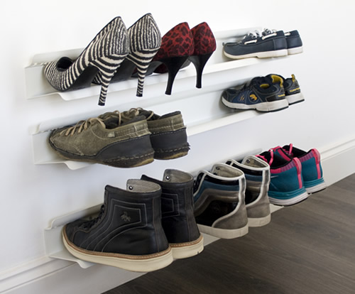 Store Wall Mounted Shoe Rack Large