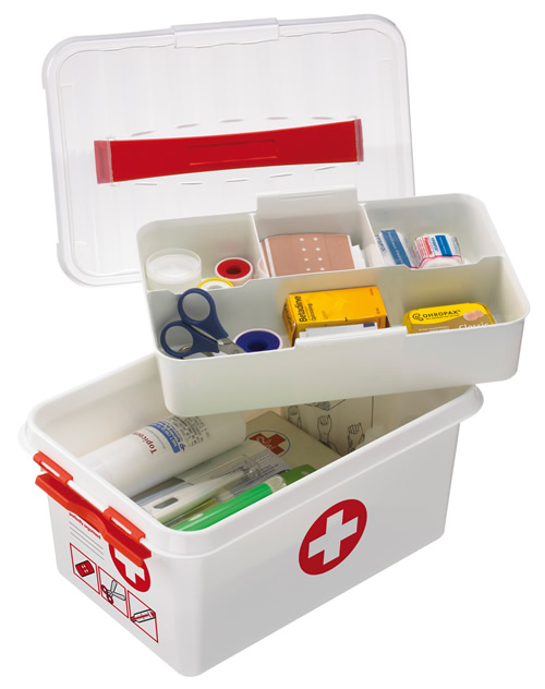 Store First Aid Storage Box 6 Litre