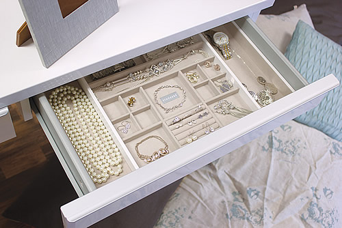 Garage Storage Ideas Store | Stackers Expandable In-drawer Jewellery Box