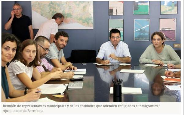 Barcelona cria um cadastro de famílias que se oferecem para acolher refugiados
