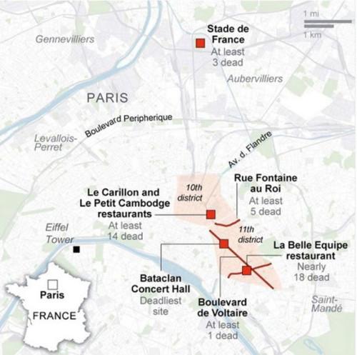 Quem ganha com o massacre em Paris?