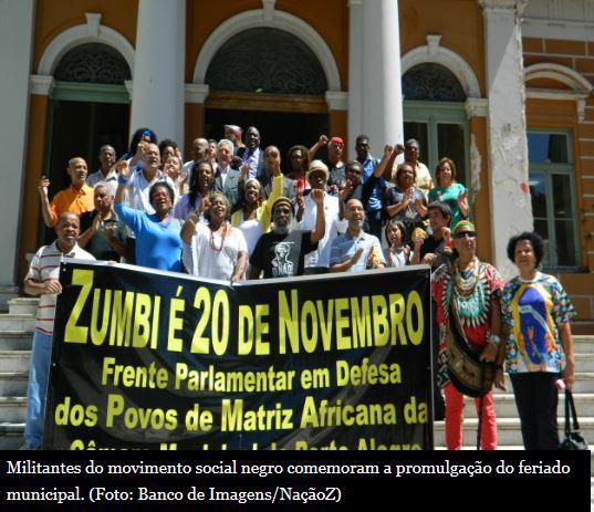 Prefeito sanciona feriado do Dia da Consciência Negra em Porto Alegre