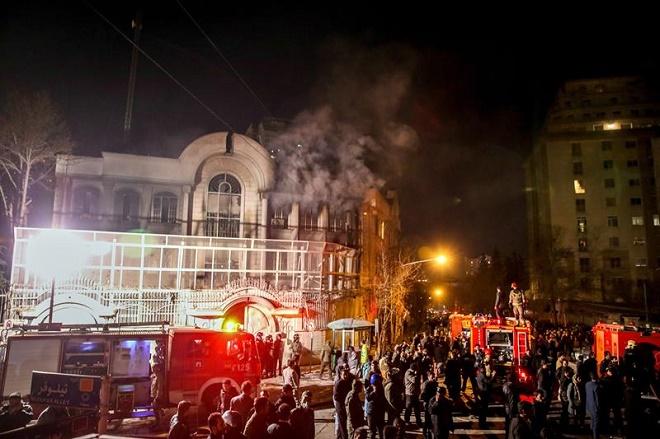 Após ataque a embaixada, aliados se unem à Arábia Saudita em conflito diplomático com Irã