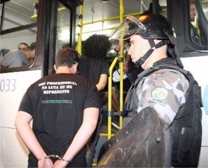 Violência policial no Estado de Goiás