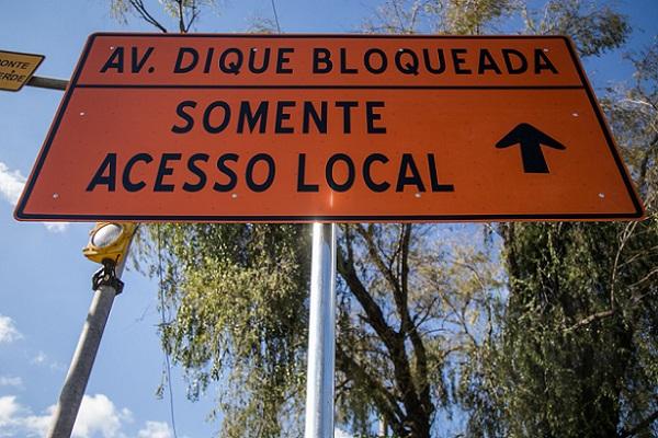 RS: Ampliação de avenida isola Vila Dique de escolas, posto de saúde e infraestrutura básica