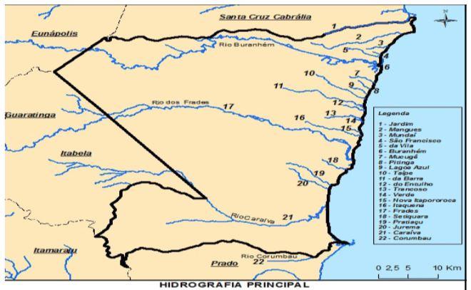A situação ambiental dos rios da Orla Norte de Porto Seguro-Bahia