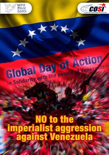Semana de solidariedade com Venezuela 29/8 – 4/9