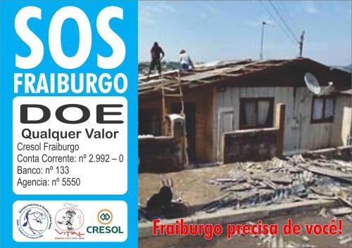 Entidades lançam campanha para ajudar na reconstrução de Fraiburgo-SC